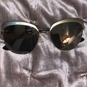 Prada Silver Chrome Sabbiato Sunglasses